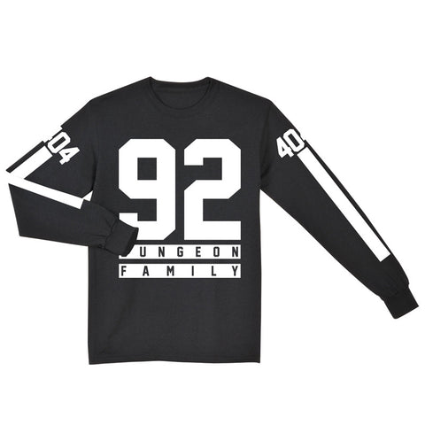 Dungeon Family Jersey Long Sleeve Tee