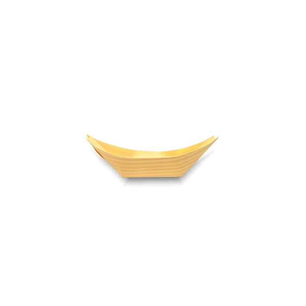 bamboo wooden boat 12cm