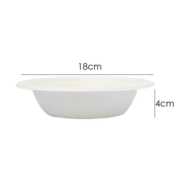sugarcane round bowl 18cm 16oz/450ml