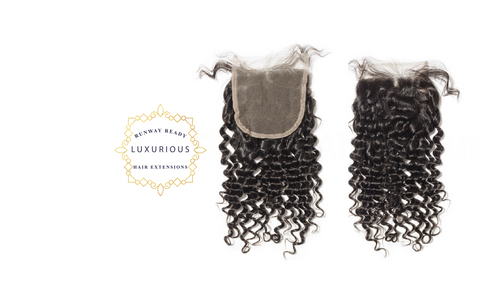 4x4 Brazilian Curly Lace Closure - RunwayReadyHair