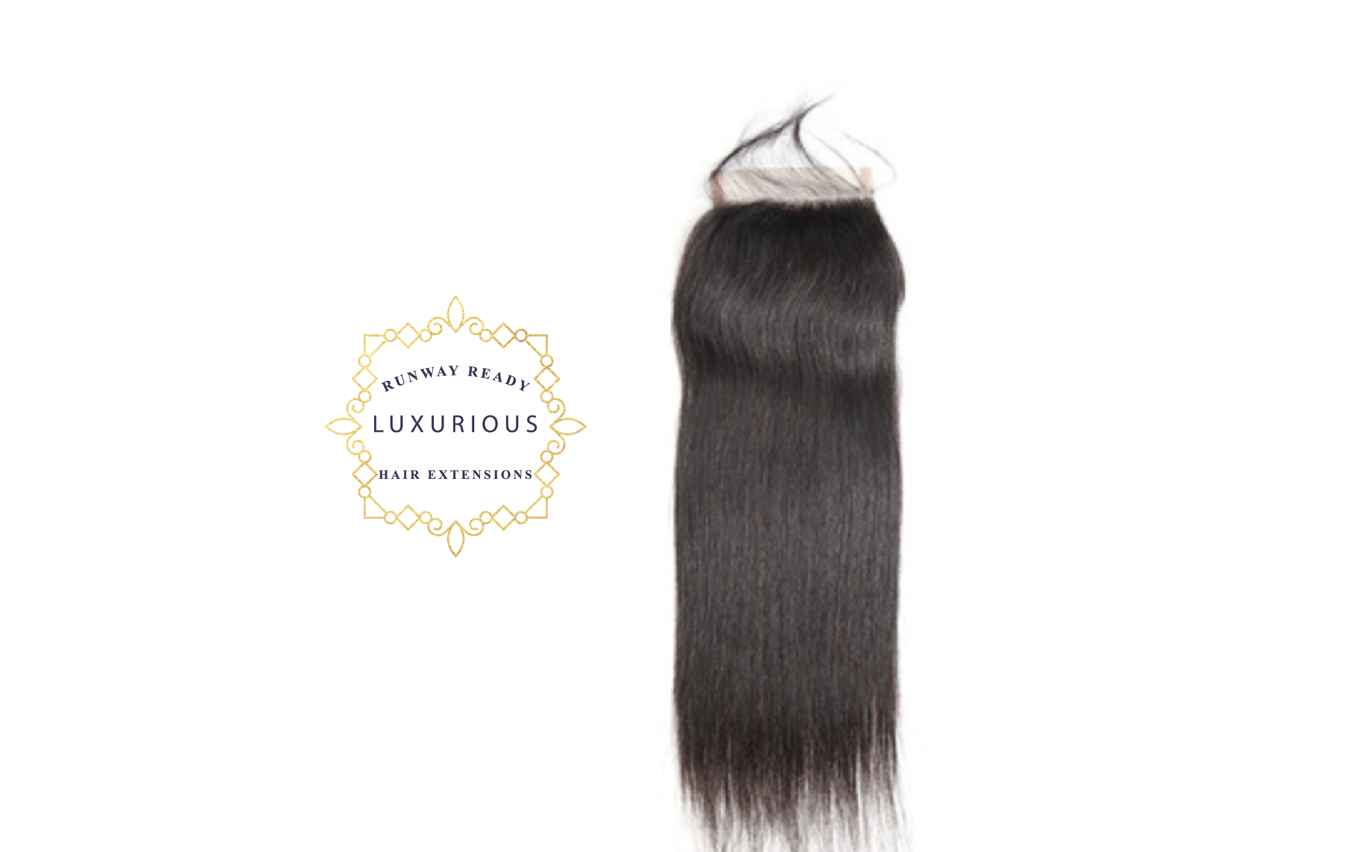 4x4 Brazilian Straight Lace Closure - RunwayReadyHair