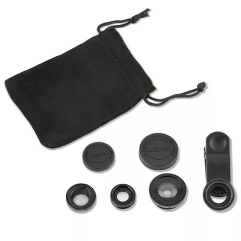 Universal 3 In 1 Mobile Lens Kit