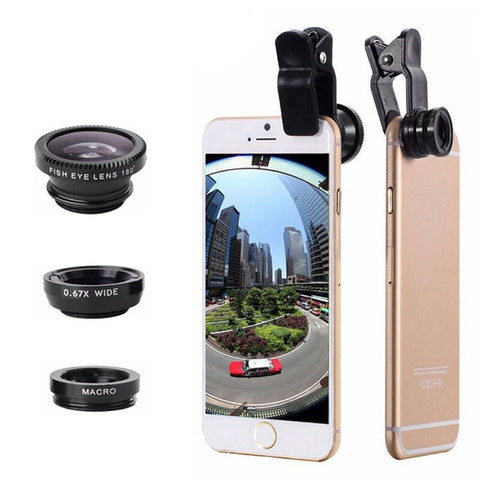 Universal 3 In 1 Mobile Lens Kit - MyDealznet
