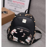 Floral Butterfly Backpack Small Bag - MyDealznet