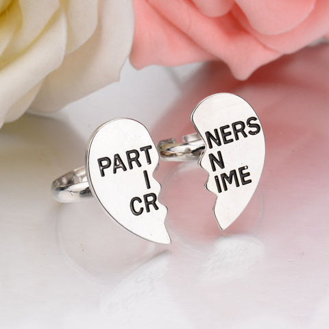 Partners in Crime 2 Ring Set - MyDealznet