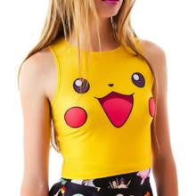 Cute Girl's Pokemon Pikachu Tank Top