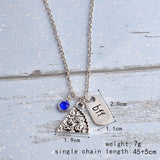 BFF Pizza Necklaces with Charms - MyDealznet