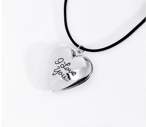 I Love You Heart Photo Locket - MyDealznet