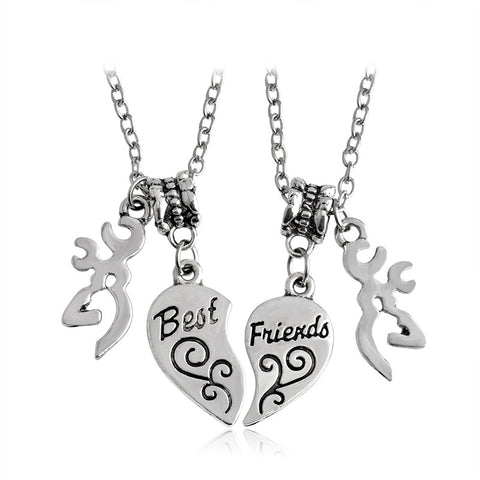 Best Friends Buck Necklaces 2 pc Set - MyDealznet