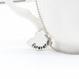 Best Friends Forever Puzzle Heart Necklaces 3pcs - MyDealznet