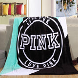 Plush Fleece Blanket Throw 4 Designs - Dealznet