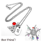 BFF Pizza w/Charms Necklaces*US Delivery 3-5 Days - Dealznet