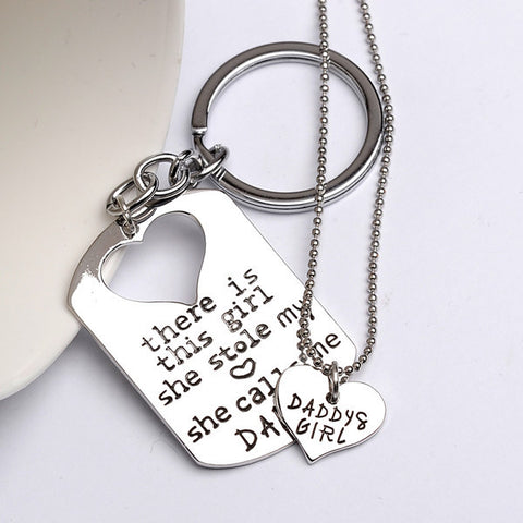 Daddy's Girl Necklace & Key Chain - MyDealznet