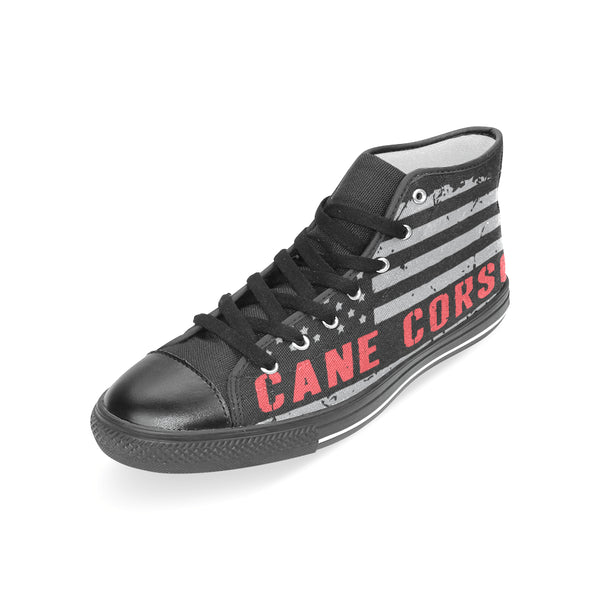 Cane Corso American Flag Shoes Women