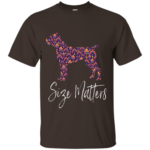 Size Matters Abstract Cotton T-Shirt
