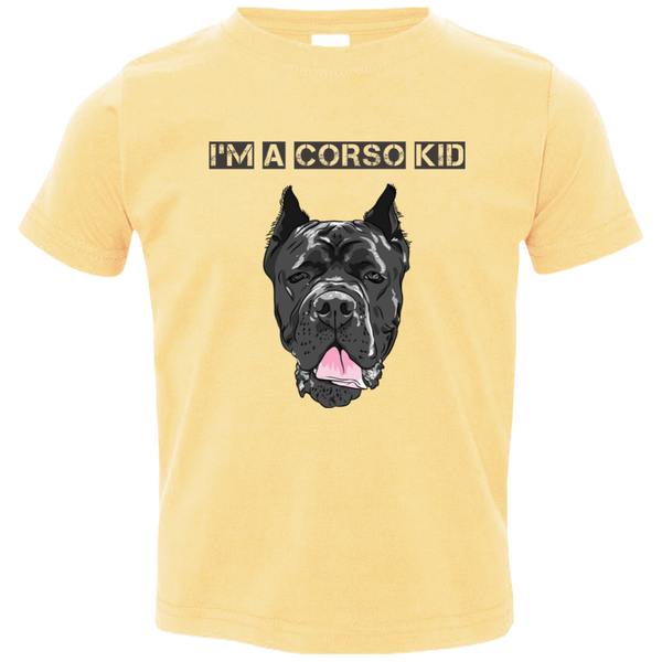 I'M A Corso Kid Toddler Tee