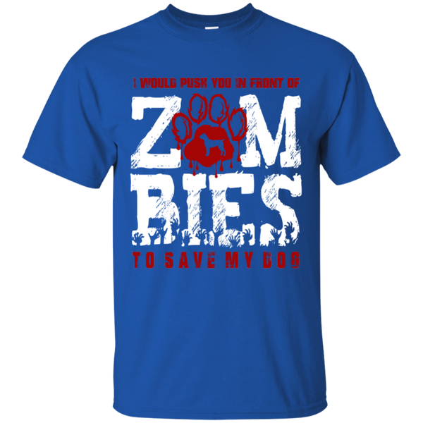 Cane Corso Zombies Cotton T-shirt