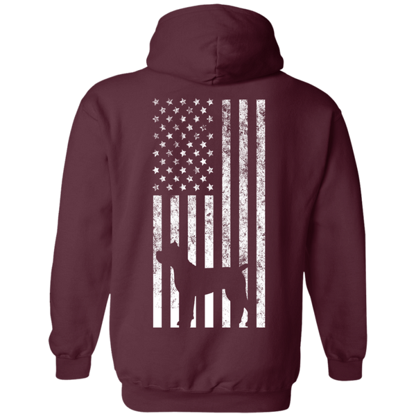 Cane Corso USA Pullover Hoodie