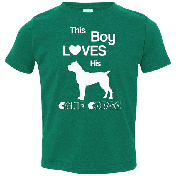 This Boy Loves His Cane Corso Toddler Boys