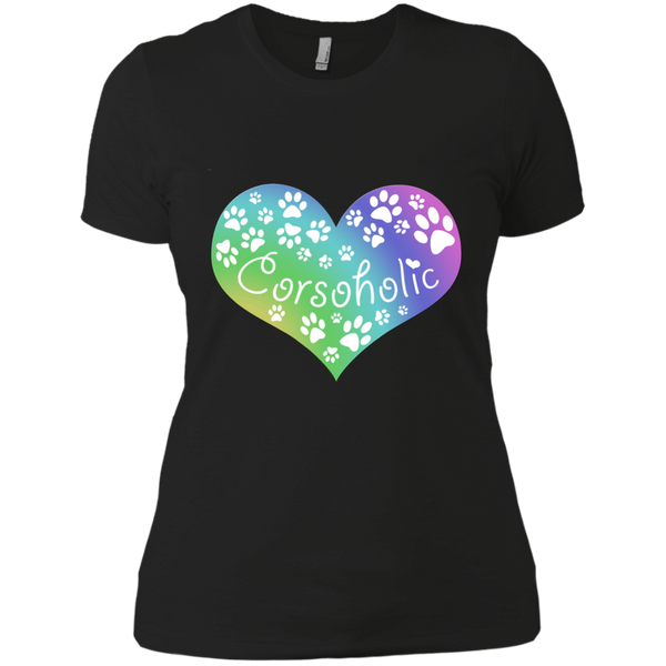Corsoholic Heart Ladies' T-Shirt