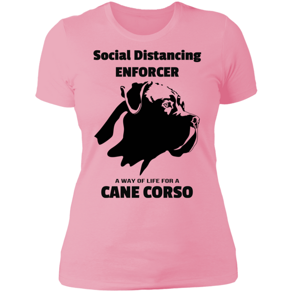 Social Distancing Flop Ladies' Boyfriend T-Shirt