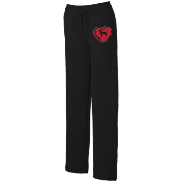 Cane Corso Love Ladies' Open Bottom Sweats