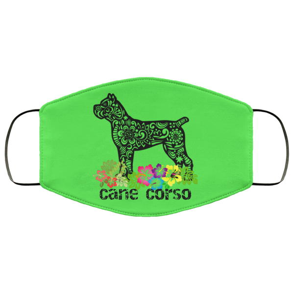 Hawaii Cane Corso Face Mask