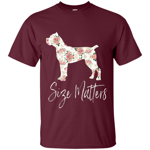 Size Matters Floral Cotton T-Shirt