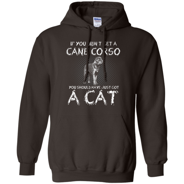 Should Have Got A Cat Uncropped Pullover Hoodie