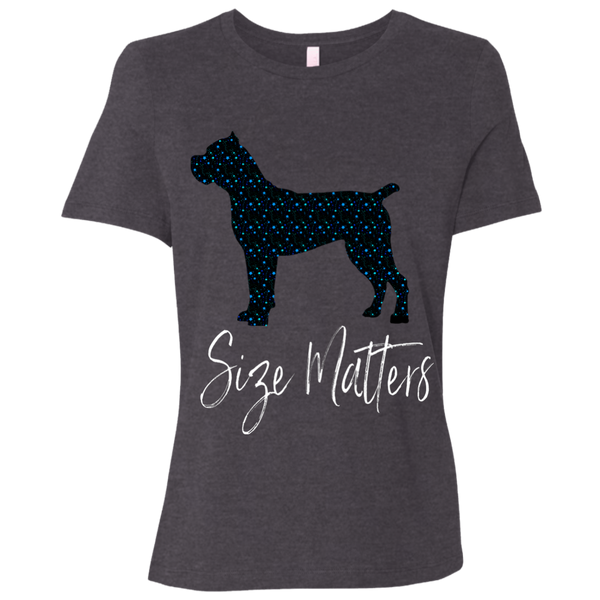 Size Matters Star Ladies' Relaxed Jersey T-Shirt