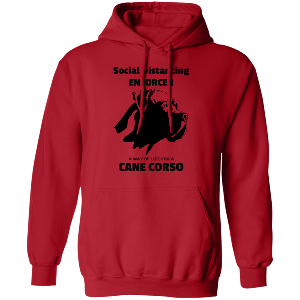 Social Distancing Flop Pullover Hoodie 8 oz.