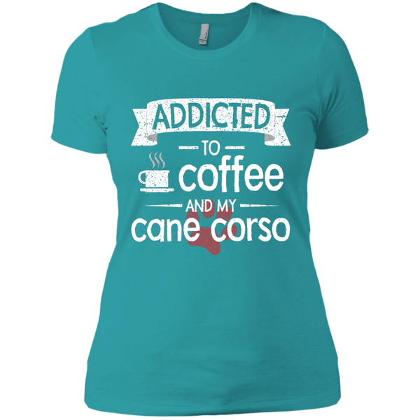 Addicted To Coffee Fitted Tee