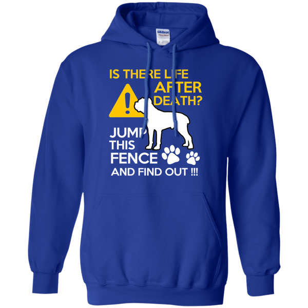 Is There Life After Death Cane Corso Hoodie