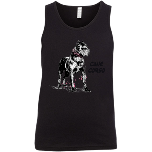 Cane Corso Crop Canvas Youth Jersey Tank