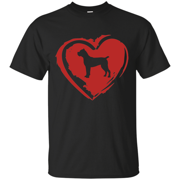 Cane Corso Love Basic Cotton T-Shirt