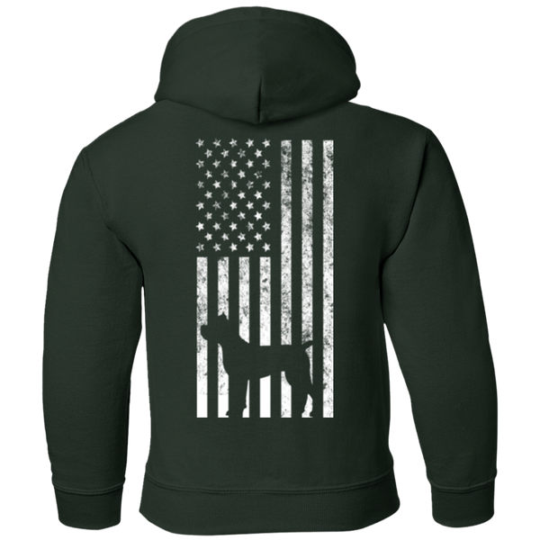 Cane Corso USA Youth Pullover Hoodie