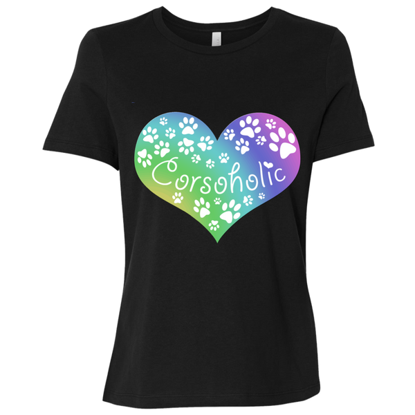 Corsoholic Heart Ladies' Relaxed Jersey T-Shirt