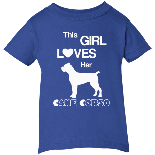 This Girl Loves Her Cane Corso Infant Girls