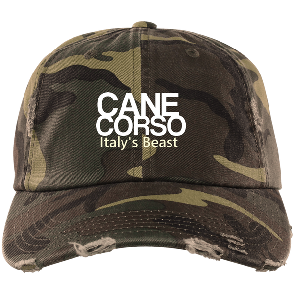 Italy's Beast District Distressed Dad Cap