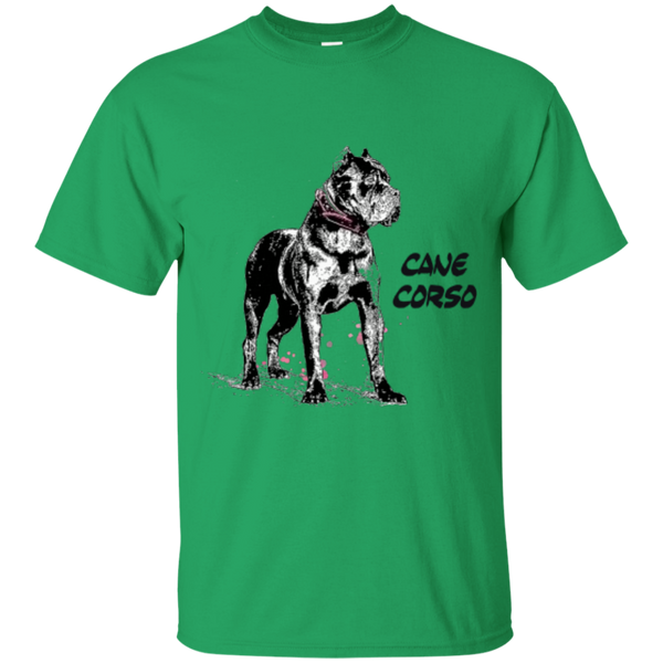 Cane Corso Crop Girls Gildan Youth Ultra Cotton T-Shirt