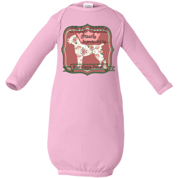 Protected Princess with background  Infant Layette