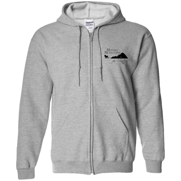 MM4M Gildan Zip Up Hooded Sweatshirt