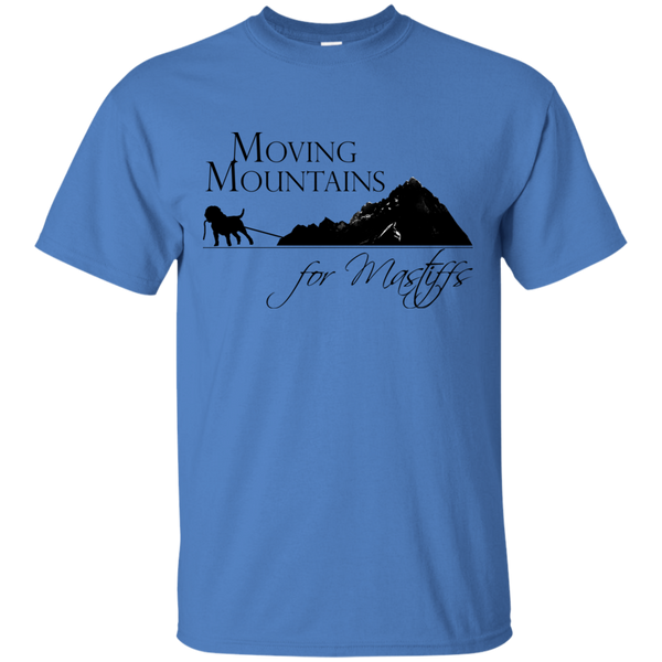Moving Mountains For Mastiffs Cotton T-Shirt
