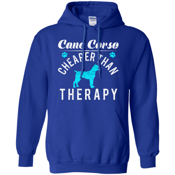 Cane Corso Cheaper Than Therapy Hoodie