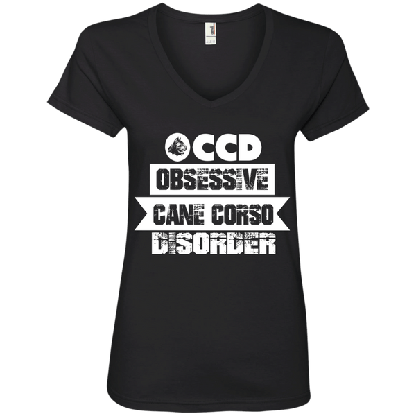 OCCD Ladies' V-Neck Tee