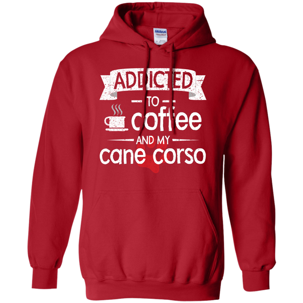 Addicted To Coffee Pullover Hoodie