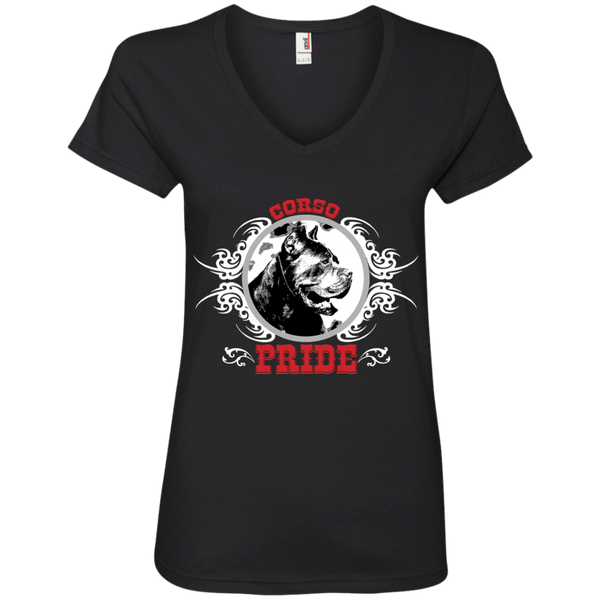 Corso Pride Ladies' V-Neck Tee
