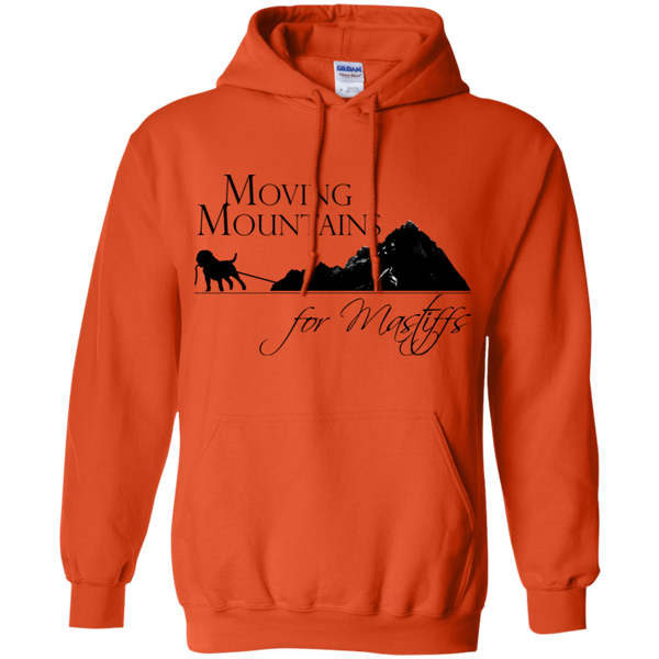 Moving Mountains For Mastiffs Gildan Pullover Hoodie