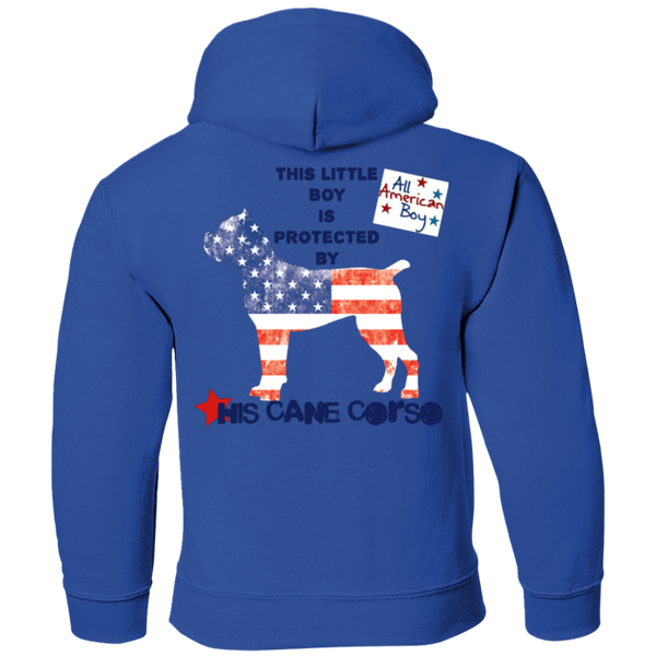 Amercian Boy Protected  Youth Pullover Hoodie