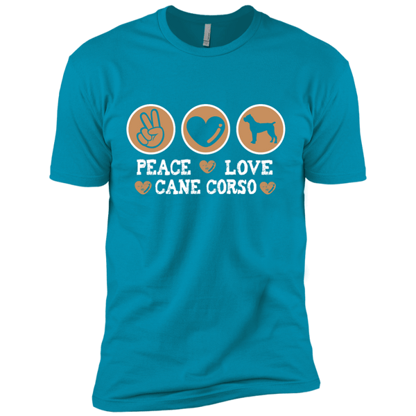 Peace Love Cane Corso Men's Short Sleeve Tee
